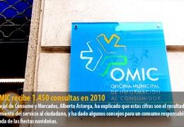 La OMIC recibe 1.450 consultas en 2010