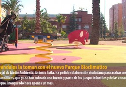 Los vándalos la toman con el nuevo Parque Bioclimático