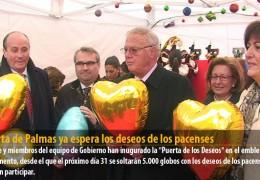 Puerta de Palmas ya espera los deseos de los pacenses