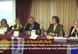 Celdrán inaugura el Foro de Desarrollo Rural