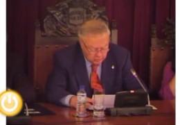 Pleno de enero de 2011 del Ayuntamiento de Badajoz