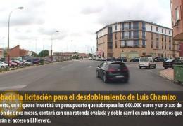 Aprobada la licitación para el desdoblamiento de Luis Chamizo