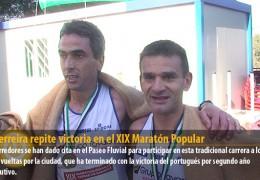 Gil Ferreira repite victoria en el XIX Maratón Popular