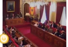 Pleno de febrero de 2011 del Ayuntamiento de Badajoz