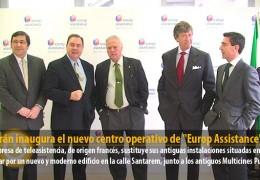"""Celdrán inaugura el nuevo centro operativo de """"Europ Assistance"""""""