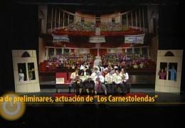 Actuación de Los Carnestolendas