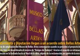 Ayuntamiento y Diputación llegan a un acuerdo sobre Bellas Artes