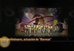 Actuación de Marwan
