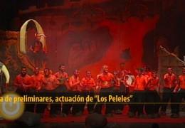 Actuación de Los Peleles