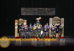 Actuación de Los Zarigüellas