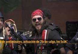 Actuación de Yo no salgo, Los Suat