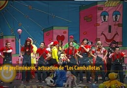 Actuación de Los Camballotas