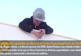 95 desempleados aprenden un oficio en el Centro Ocupacional Cerro de San Miguel