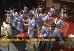 Actuación de La Mascarada