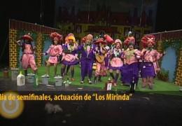 Actuación de Los Mirinda