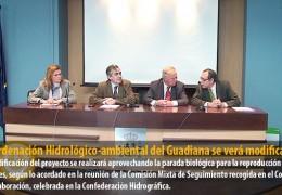 La Ordenación Hidrológico-ambiental del Guadiana se verá modificada