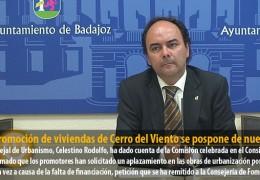 La promoción de viviendas de Cerro del Viento se pospone de nuevo