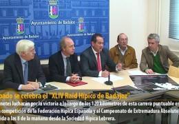 """El sábado se celebra el """"XLIV Raid Hípico de Badajoz"""""""