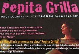 """Blanca Marsillach presenta su obra """"Pepita Grilla"""""""