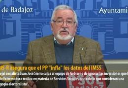 """El GMS-R asegura que el PP """"infla"""" los datos del IMSS"""