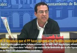 El GMS-R denuncia que el PP hace campaña con fondos municipales