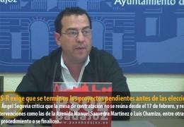 El GMS-R exige que se terminen los proyectos pendientes antes de las elecciones