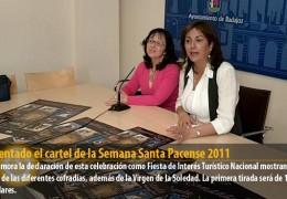 Presentado el cartel de la Semana Santa Pacense 2011