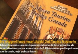 Un libro recoge el fondo museístico del Club Taurino Extremeño