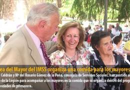 El Área del Mayor del IMSS organiza una comida para los mayores