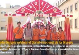 Estandartes para celebrar el Día Internacional de los Museos