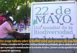 Castelar acoge talleres sobre la biodiversidad para jóvenes discapacitados