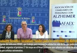 Una subasta benéfica recaudará fondos para los enfermos de Alzheimer