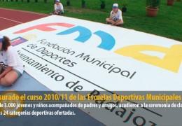Clausurado el curso 2010/11 de las Escuelas Deportivas Municipales