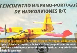 El domingo se celebra el IX Encuentro Hispano-Portugués de Aeromodelismo