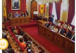 Pleno de junio de 2011 del Ayuntamiento de Badajoz