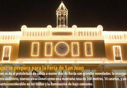 Badajoz se prepara para la Feria de San Juan
