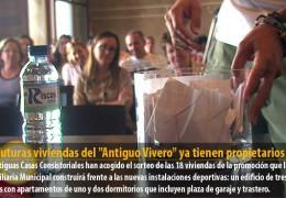 """Las futuras viviendas del """"Antiguo Vivero"""" ya tienen propietarios"""