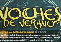 """Teatro y música en las """"Noches de Verano"""""""