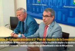 El Equipo de Gobierno presenta el 2º Plan de Impulso de la Economía Local