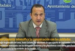 El Ayuntamiento intensifica la comunicación con los poblados