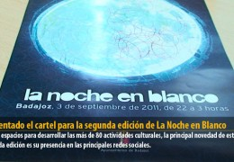Presentado el cartel para la segunda edición de La Noche en Blanco