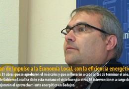 El Plan de Impulso a la Economía Local, con la eficiencia energética