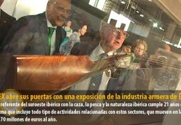 FECIEX abre sus puertas con una exposición de la industria armera de Éibar