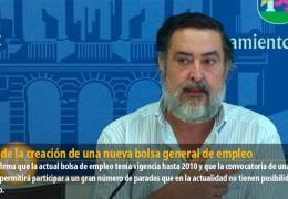 IU pide la creación de una nueva bolsa general de empleo