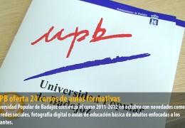 La UPB oferta 24 cursos de aulas formativas