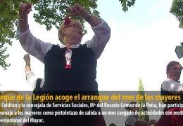 El Parque de la Legión acoge el arranque del mes de los mayores