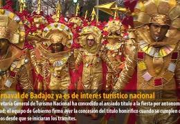 El Carnaval de Badajoz ya es de interés turístico nacional