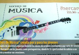 """""""Noches de Música"""" creada por y para los jóvenes"""