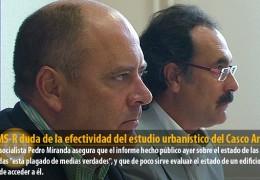 El GMS-R duda de la efectividad del estudio urbanístico del Casco Antiguo