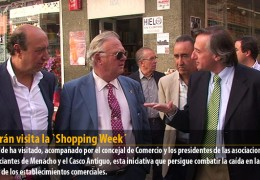 Celdrán visita la `Shopping Week´